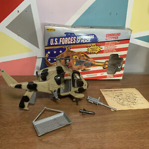 U.S. Forces Defenders Of Peace Command Chopper Incomplete RARE open Box Remco
