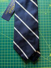 Polo Ralph Lauren Tie 100% Silk Handmade in Italy Genuine BNWT