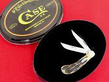Case XX USA mint in tin box Tony Bose TB6.52110 stag bone saddlehorn knife