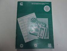 2006 Cummins ISB QSB5.9-44 Engines Troubleshooting Repair Manual NEW