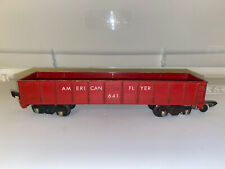 American Flyer S Gauge 641 Gondola Car