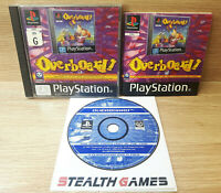 Overboard! 1997 Ps1 PAL Complete Black Label Sony Playstation 1 Psygnosis
