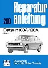 Reparaturanleitung Datsun Cherry 100 A / 120 A - Baujahre 1970 bis 1977 !