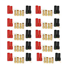 10 Pairs Original Amass XT150 Black+Red Large Current  6mm Plug for Lipo battery