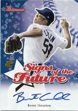 2004 Bowman Brent Clevelen Signs of the Future Autograph Detroit Tigers