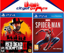 Red Dead Redemption 2 & Marvel's Spider-Man PS4 Game Brand New