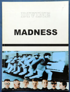 Madness Divine Songbook UK Sheet Music Song Book IMP 1996 84 p.