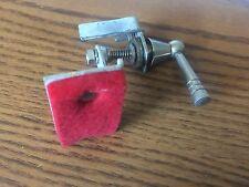 vintage Ludwig baseball bat  snare muffler (red felt)