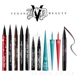 Kat Von D KVD Tattoo liner, waterproof eyeliner/DaggeR, Ink well, lightning