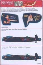 Kits World Decals 1/48 AVRO LANCASTER Mk.X Nan & No! Not Now