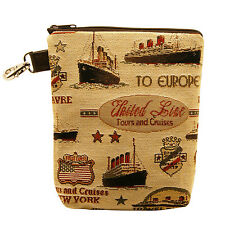 BELLY MODEN - FERRIES TAPESTRY STYLE CLOBBER BAG