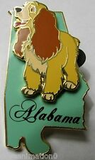 Disney State Character Pins Alabama Lady from Lady and the Tramp Green Pin