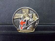 Pin Templer Kreuzritter Templerorden - 3 x 3 cm