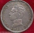 ESPAÑA KM 723 50 CÉNTIMOS ALFONSO XIII 1.904 (0-4) MADRID SM V PLATA (MBC/VF)