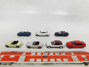 CG484-0, 5 #7x Herpa H0 / 1:87 Car BMW: Z8+Z1+3er Coupe/Cabriolet + 502, Mint