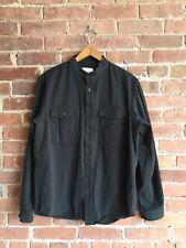 Steven Alan Men's Shirt Size Medium Black