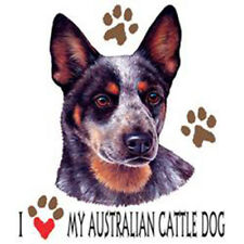 T-shirt with Australian Cattle dog transfer