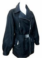Leana Z. Damen Jacke Funktionsjacke Gr.40/42 Lederbesatz, Futter herausnehmbar
