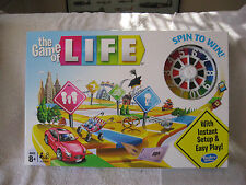 The Game of Life Board Game By Hasbro 2015~New & Sealed!
