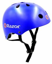 Razor V-11 Kids Multi-Sport Helmet Children Protection Safety Satin Blue