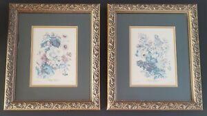 """Album Vilmorin Floral Prints Elisa Champin 1853 Framed Color 8"""" x 10"""""""