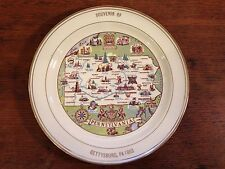 "Vintage Souvenir of Gettysburg, Pennsylvania 1863 Collectible Plate ( 9.5"")"