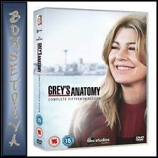 GREYS ANATOMY COMPLETE SEASON 15 - FIFTEENTH SEASON**BRAND NEW DVD *