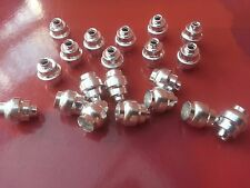 20 x Universal Alloy Cable Guide Ferrules For Bike Brake Levers **NEW**