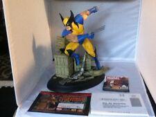 Diamond Select Wolverine Unleashed Statue Art Asylum Marvel Milestone