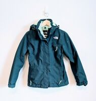 The North Face Inlux Insulated Womens S Blue Green Teal  Ski/Snow Coat/Jacket