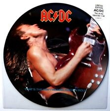 "EX! AC/DC THAT'S THE WAY I WANNA ROCK N ROLL 12"" VINYL PICTURE PIC DISC thats"
