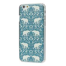 Blue Elephant Frame Hard Back Case Cover For iPhone 6 4.7 inch Крышка корпуса