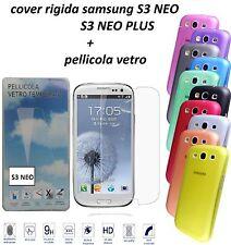 Pellicola in Vetro Temperato per Samsung Galaxy S3 S3neo Posta1