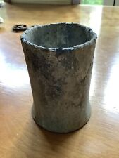 Vintage Small Lead Pot