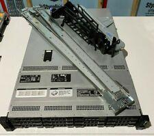 Dell POWEREDGE R510 Server; Dual Xeon -X5650 2.66GHz CPU; 64GB RAM; iDrac; Rails