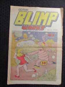 1969 GOTHIC BLIMP WORKS #5 VG+ 4.5 Underground Tabloid / Vaughn Bode