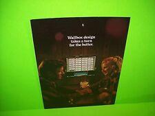 506 Tri-Vue By ROCK OLA 1973 ORIGINAL WALLBOX JUKEBOX PHONOGRAPH FLYER BROCHURE