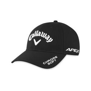 NEW Callaway Performance Pro Black Mavrik/Apex/Chrome Soft Adjustable Hat/Cap