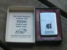 Vintage Used 1978 ZIPPO Dry Cigarette Lighter Camel Guardian Inspection // //