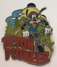 Adventures by Disney - Teton Pioneer Goofy - Quest for the West - ABD Pin