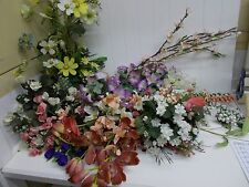 Kw-337 huge Box Assorted Silk Artificial Flowers Crafts Projects Floral