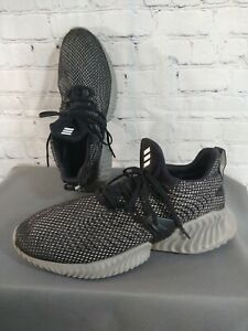 PRE-OWNED men's ADIDAS ALPHA BOUNCE INSTINCT athletic shoes - size 11 1/2