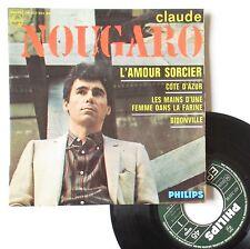 """Vinyle 45T Claude Nougaro   """"L'amour sorcier"""" - RARE"""