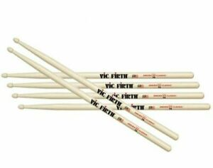 Vic Firth VF-7A Drum Sticks Three Pair Off FREE 24 hour delivery in most cases