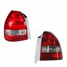 Taillight Taillamp Pair for Honda Civic Hatchback 1999 2000