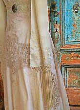 EDWARDIAN Vintage CROCHET IRISH Lace Wedding Dress SKU001