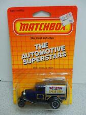 L23 MATCHBOX AUTOMOTIVE SUPER STARS- MB38 MODEL 'A' DIECAST TRUCK- NEW ON CARD