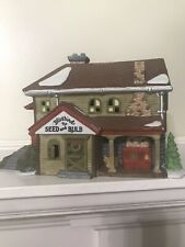 Dept. 56: Bluebird Seed & Bulb - New England Village made in Taiwan