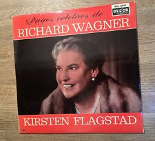 33 tours Stereo Kirsten Flagstad pages célèbres In memoriam Richard Wagner EXC *