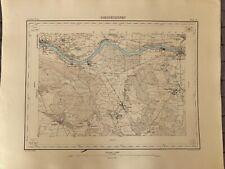 SUISSE - ATLAS S. VON OBERST - CARTE N°47 DIESSENHOFEN BE 1868